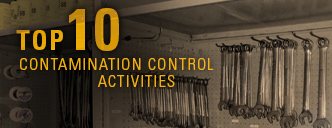 Top 10 contamination control activities