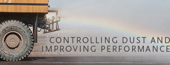 Controlling dust and improving performance